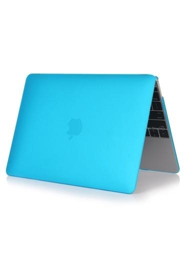 """Mcstorey MacBook Pro A1278 13.3"""" Kılıf Kapak Koruyucu Ruberized Hard Incase Mat Mercan"""